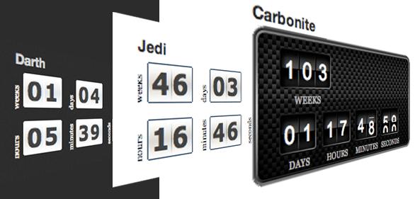 Custom countdown timer plugin for WordPress: T(-) Countdown Control