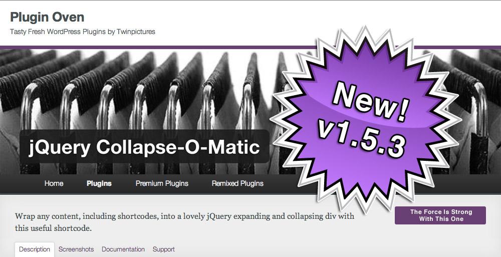 Collapse-O-Matic v.1.5.3