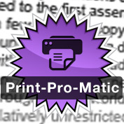 Level Up and Go Pro with Print-Pro-Matic