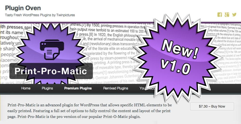 Print-Pro-Matic v1.0